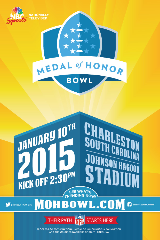 MOH Bowl Game Day Poster