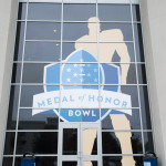 Medal of Honor Bowl Stadium Window
