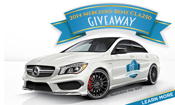 2015 Medal of Honor Bowl Car Giveaway