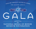 True Blue Gala Invitation