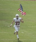 Nate Boyer, a 34-year-old Green Beret and long-snapper from Texas, will play in the Medal of Honor Bowl on Saturday. University of Texas photo