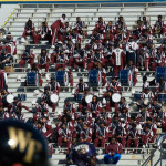 MOHB Marching 101 band on the stands